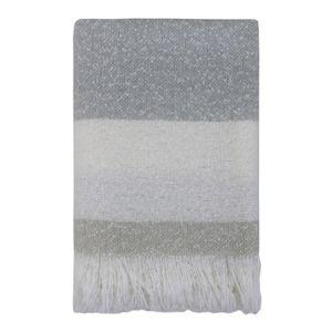 LINENS & MORE Cosy Throw 130X170cm Grey
