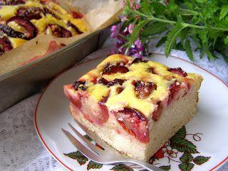 W Mojej Kuchni Lubię.. : ciasto drożdżowe z suszonych drożdży ze śliwkami i...