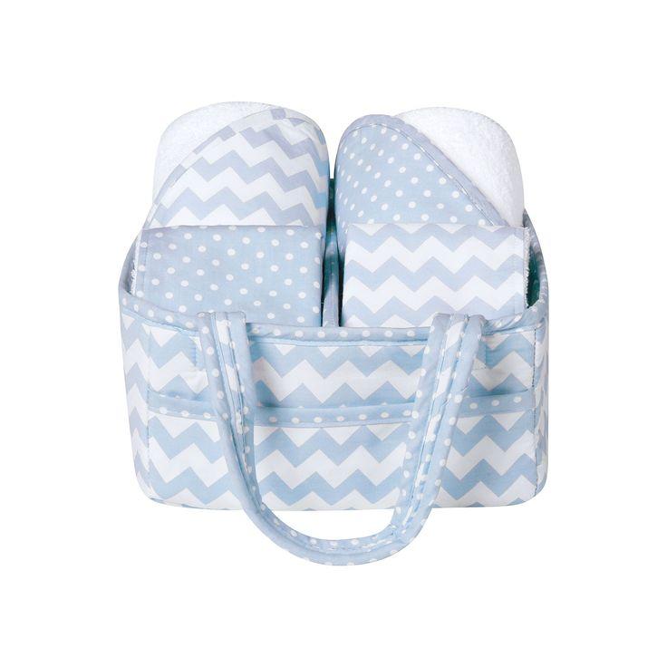 Trend Lab 5-Pc. Baby Bath Gift Set, Light Blue