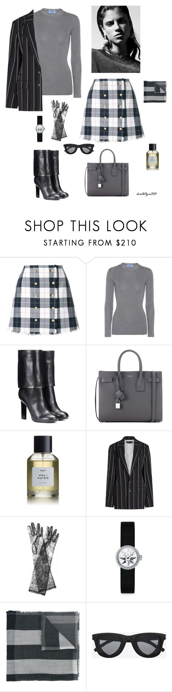 """""""..."""" by katelyn999 ❤ liked on Polyvore featuring Thom Browne, Prada, Victoria Beckham, Yves Saint Laurent, Heretic Parfum, Haider Ackermann, Dolce&Gabbana, Christian Dior and Burberry"""