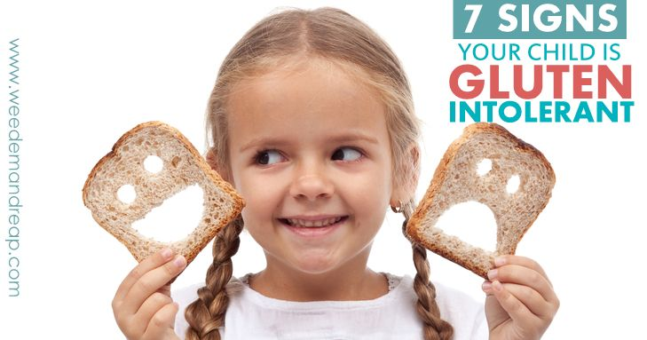 7 Signs Your Child is Gluten Intolerant - recommends trying a real food diet & properly prepared grains (ex- sourdough) to see if that helps before going gluten free.  Children can heal fast!