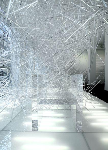 Installation, by Tokujin Yoshioka