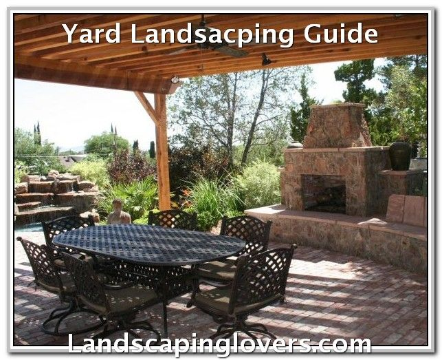 Improvised Your Landscaping With These Ideas Patio Patio Design