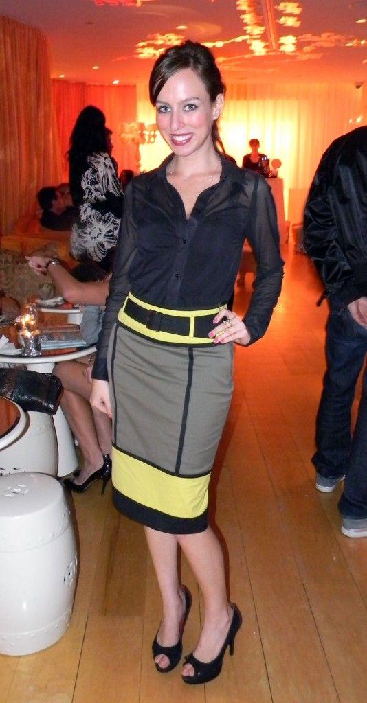 Sydne Summer's Fashion Diary: Ron Robinson at Mondrian