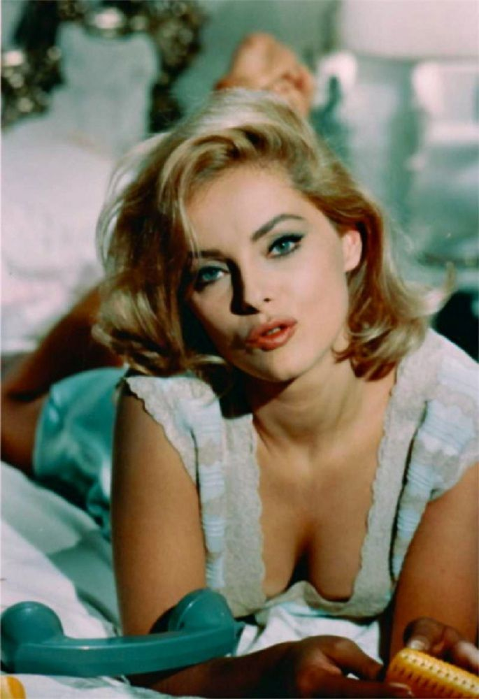 Virna Lisi (born: November 8, 1936, Ancona, Italy - December 18, 2014, Rome, Italy) was an iconic Italian actress. She was a Cannes and César award-winning Italian film actress. Lisi debuted in Hollywood opposite Jack Lemmon in How to Murder Your Wife (1965), with Tony Curtis in Not With My Wife, You Don't! (1966). Lisi starred with Frank Sinatra, in Assault on a Queen (1966), in La Ragazza e il Generale, co-starring with Rod Steiger, and in two films with Anthony Quinn.