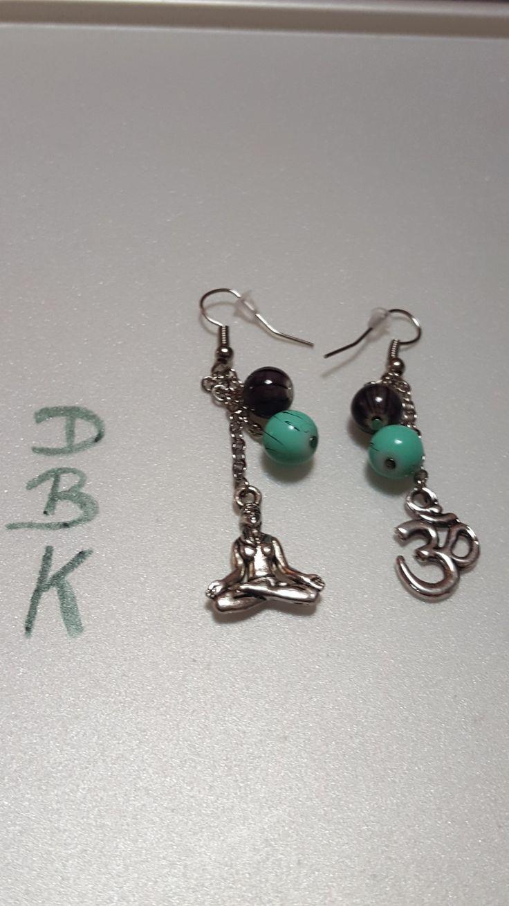 """Boucles d'oreilles """" zen """" : Boucles d'oreille par dbk-creation"""