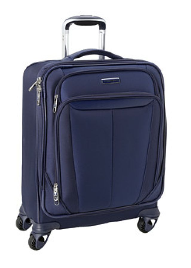 What's the Best Piece of Luggage Ever? Spinner Suitcases!: Samsonite Soft-Sided Spinner Suitcase