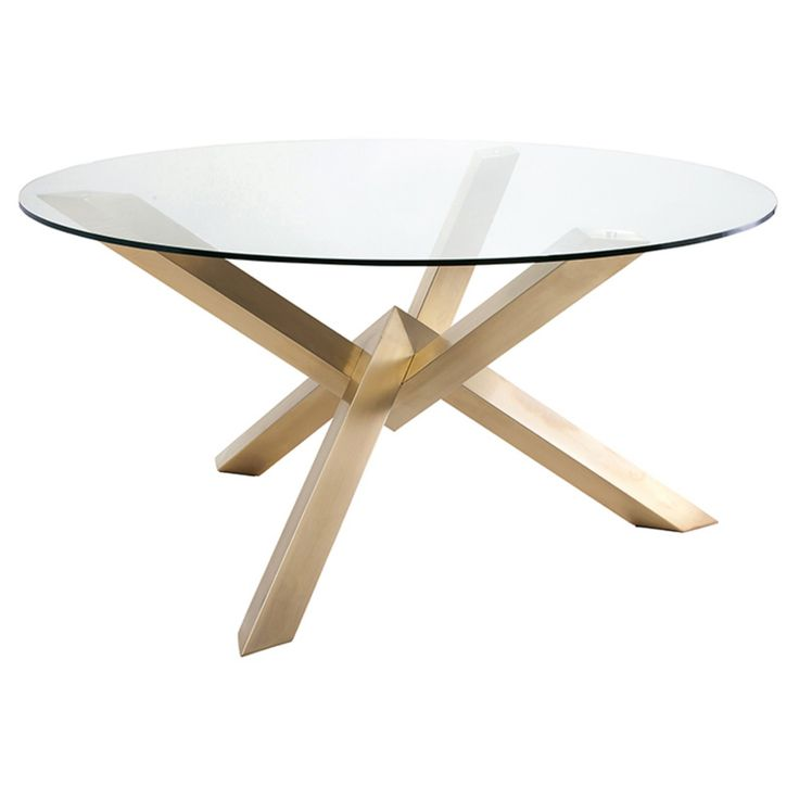 Nuevo Costa Glass Dining Table - HGTB383