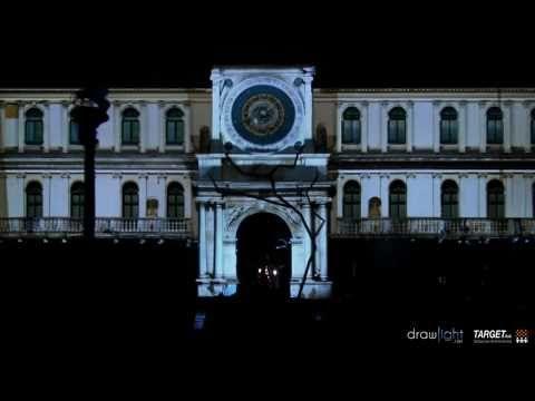 3D video-mapping Padova (proiezione mappata su edificio)