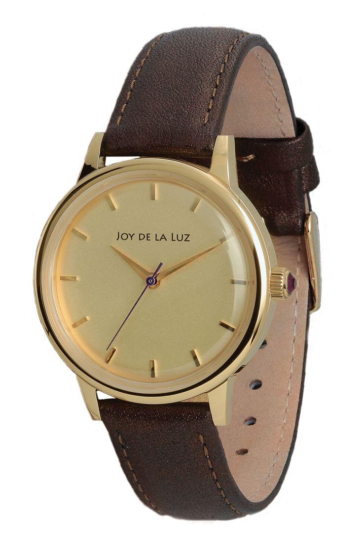 Joy de la Luz watch   Lucy goldplated