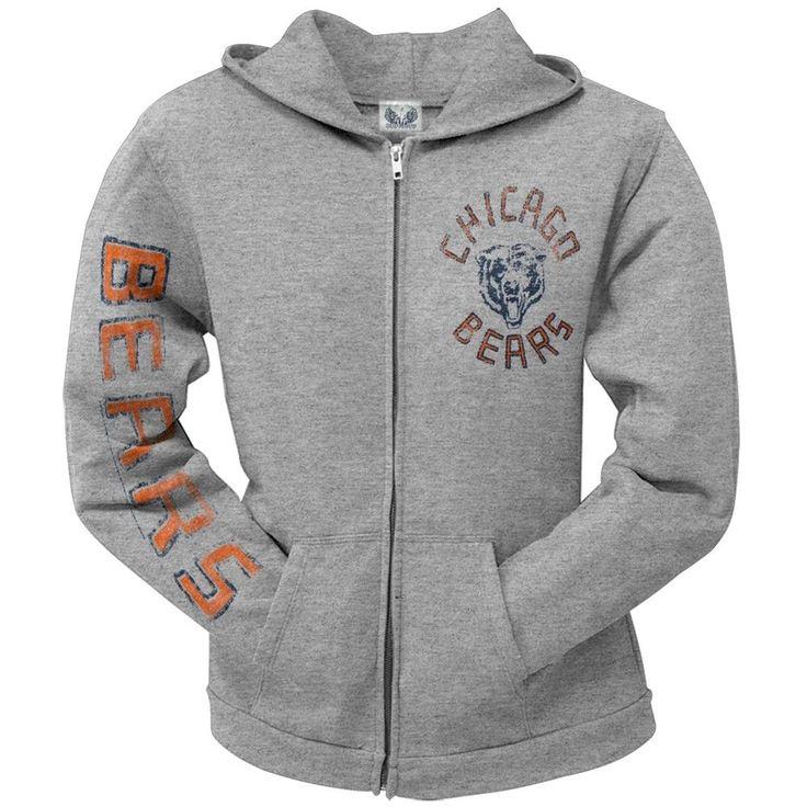 Chicago Bears - Sunday Juniors Zip Hoodie