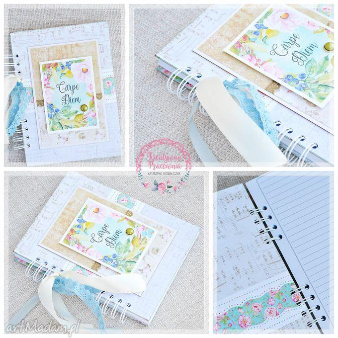Notes pamiętnik scrapbooking notesy makama2 notatnik