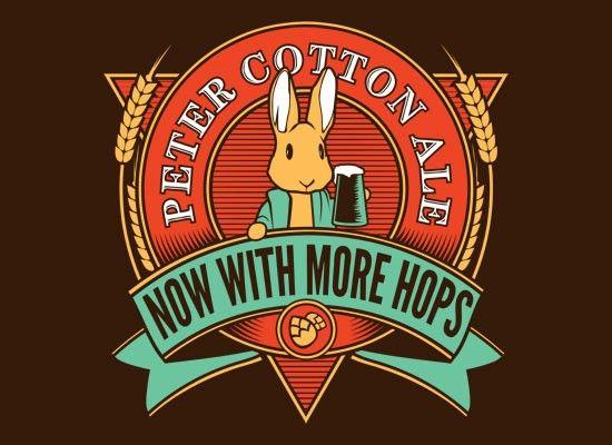 Peter Cotton Ale T-Shirt | SnorgTees