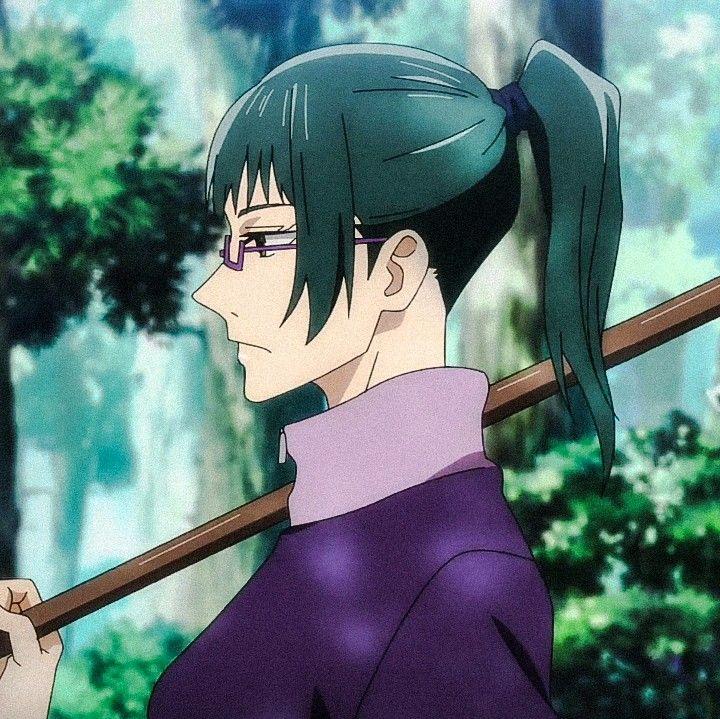 Zenin Maki Jujutsu Anime Maki