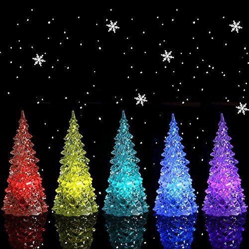 HKBAYI Beautiful Large Acrylic Icy Crystal Color Changing LED Lamp Light For Decoration Christmas Tree XMAS Gift (Body transparent) - http://rfernandez.otldemo.com/wp_timeless/hkbayi-beautiful-large-acrylic-icy-crystal-color-changing-led-lamp-light-for-decoration-christmas-tree-xmas-gift-body-transparent/