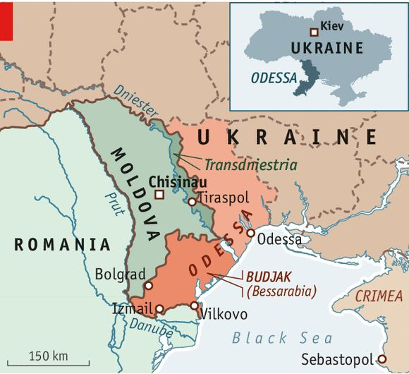 Interesant... Except the title... Ukrainian Bessarabia: Towards the unknown region | The Economist