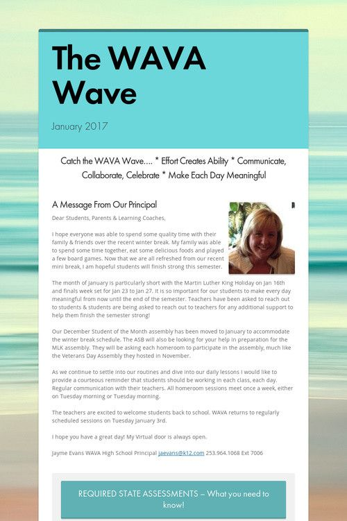 The WAVA Wave
