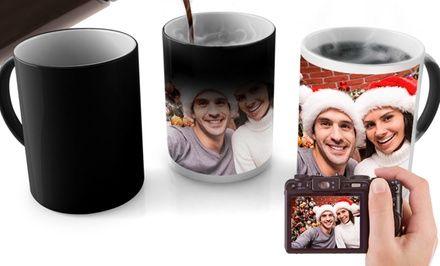 Custom Photo Mugs and Magic Photo Mugs from $5 by PrinterPix (Up to 80% Off)