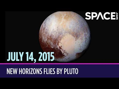Today in Space – July 14: New Horizons Flies by Pluto