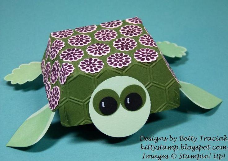 Hamburger Box Critters - Turtle