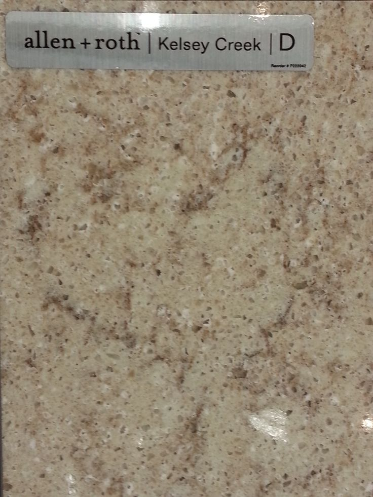 Attractive Potential Counter Tile #4   Allen + Roth   Quartz   Kelsey Creek. Maybe