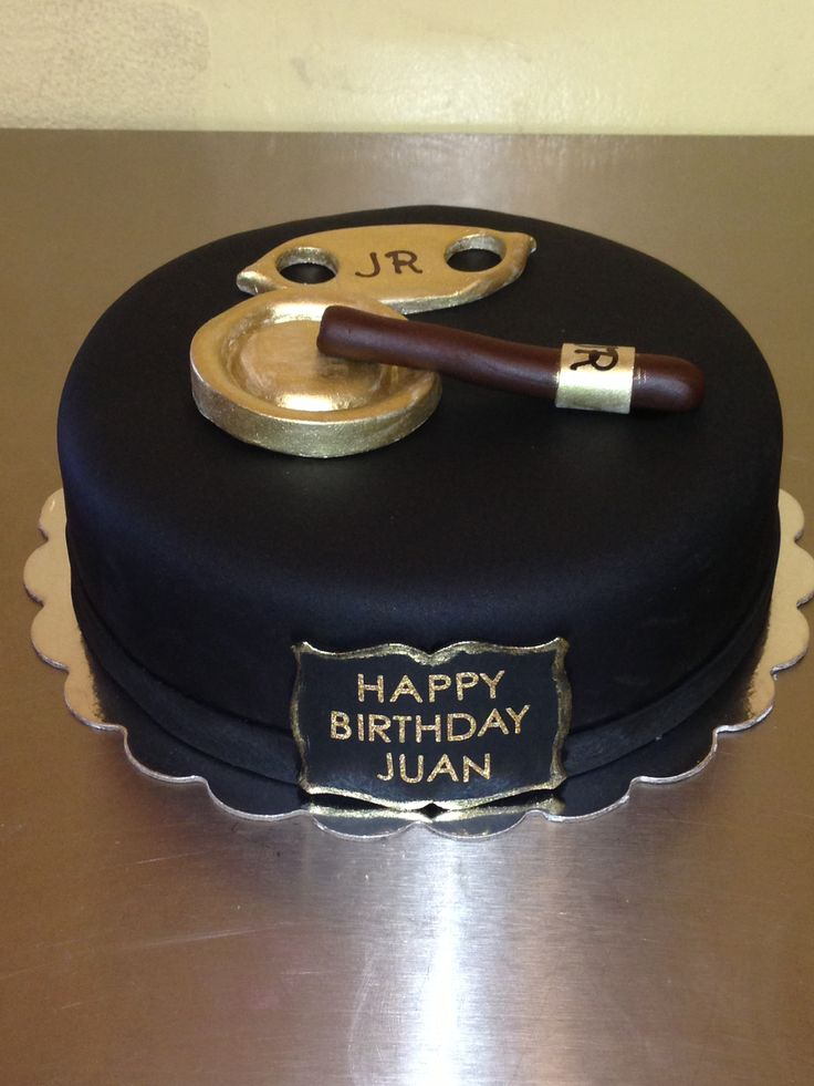 Cigar cake Like us on Facebook: cakes by anny
