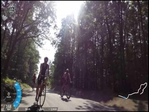 Werbellinsee Rennradtour - Garmin Virb Elite Tester