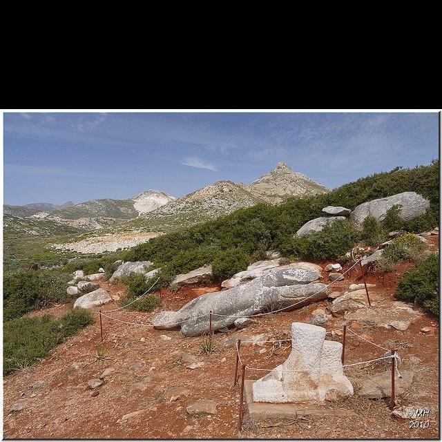 Kouros of Melanes 2 at Naxos