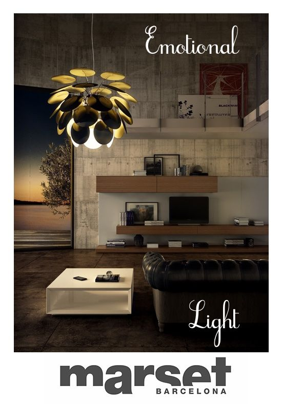 DISCOCO' 88 WHITE: the Discocó range of fixtures offers an interplay of suggestive, highly effective #lighting. Discover it! http://bit.ly/1zA1UWf #lamp #home #light #design #style
