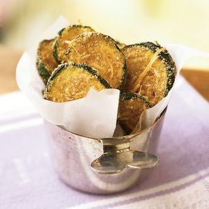 Zucchini Oven Chips | MyRecipes.com