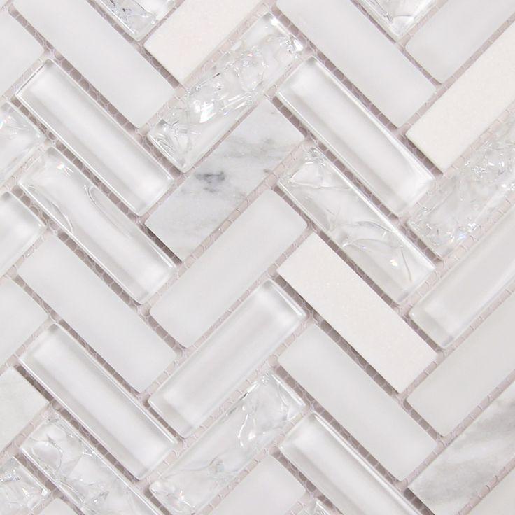Best 25 White Herringbone Tile Ideas On Pinterest