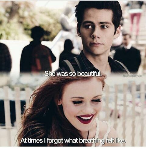 dylan o'brien, lydia martin, and teen wolf image