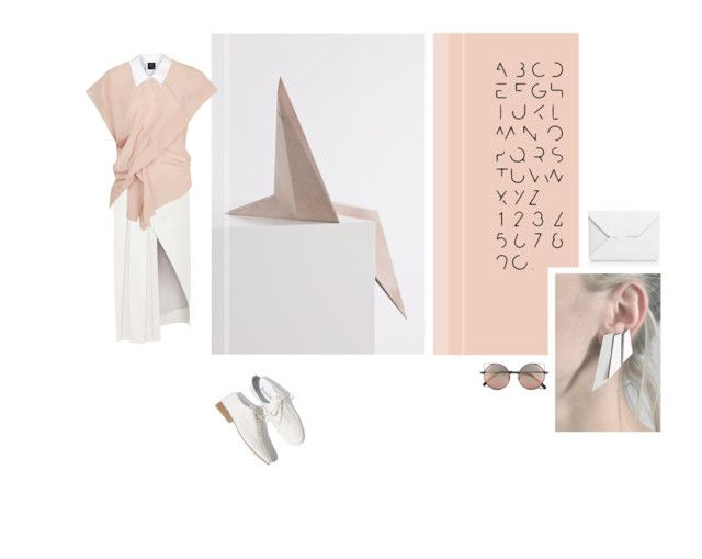 """""""Neutral polygons"""" by aumorfia on Polyvore featuring Repetto, Prabal Gurung, Marni, McQ by Alexander McQueen, J.W. Anderson, Linda Farrow, neutrals, autumnstyle, polygons and Aumorfia"""