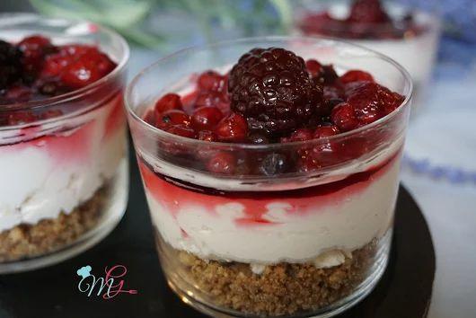 Mini Cheesecake ai frutti di bosco - La Cucina di MariGiù