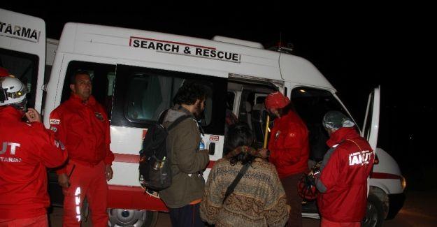 Fethiye'de ormanda kaybolan üniversite öğrencileri bulundu