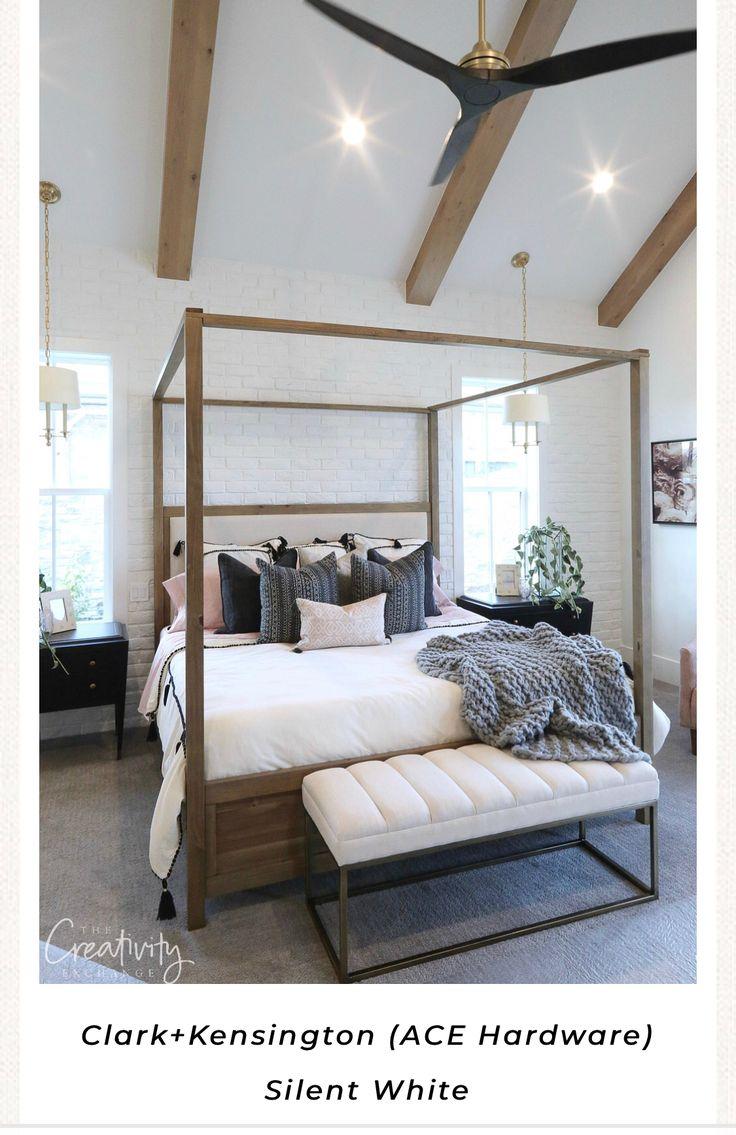 Clark+Kensington (ACE Hardware) Silent White Bedding