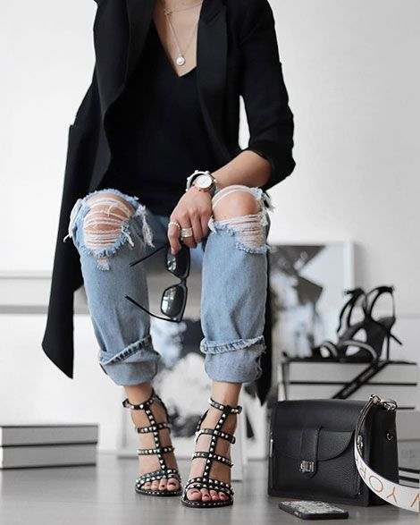 3af1a33264f LUCY Heeled Black Sandals from ASH Official SS18 Collection are gladiator  style sandals that will add