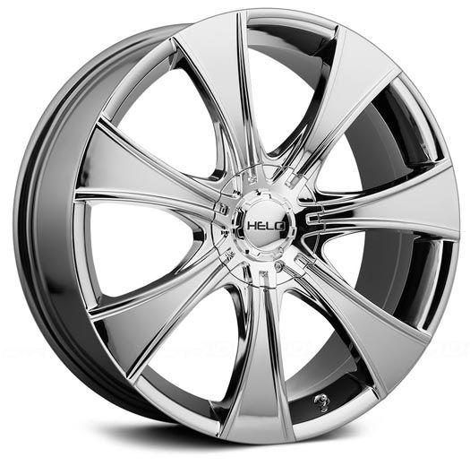Helo HE874 Bright PVD Wheels   4WheelOnline.com
