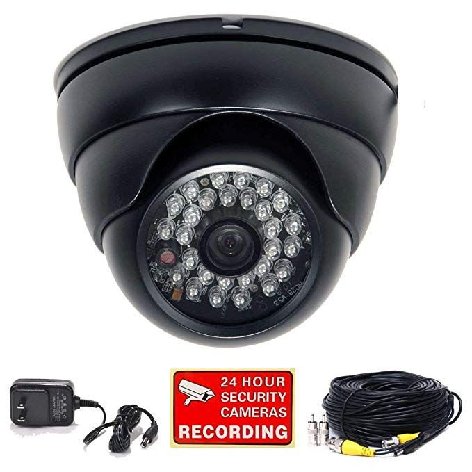 Videosecu 700tvl Dome Security Camera Built In 1 3 Sony Effio Ccd Outdoor High Resolution Day Night 28 I Home Surveillance Surveillance System Security Camera