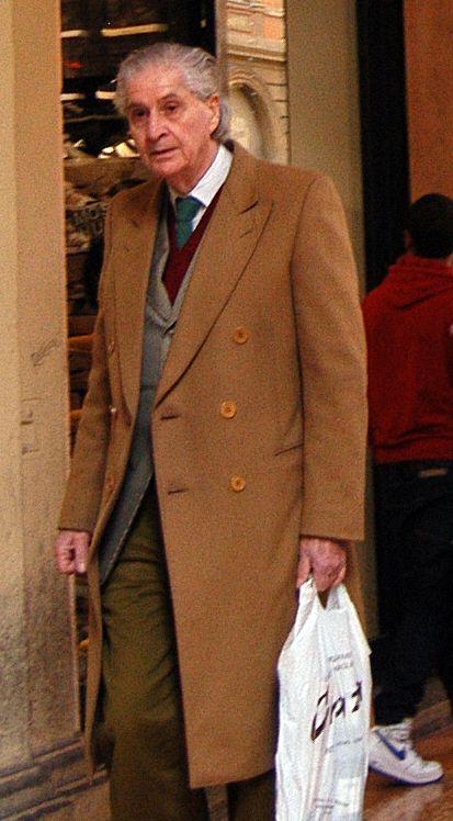 Dapper look in Bologna, Italy. PHOTO: Lucian Enasoni