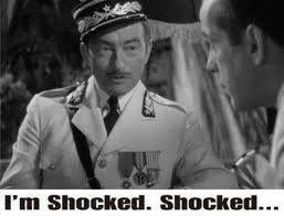 Casablanca - Claude Rains quote