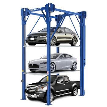 PL-14000 Triple Stacker Parking Lift  auto stacker parking car lift