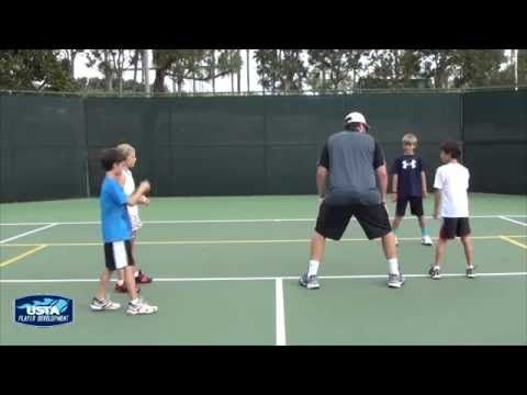 Youth Athletic Development Exercises - Ball Reaction Progression (1 of 6) - YouTube