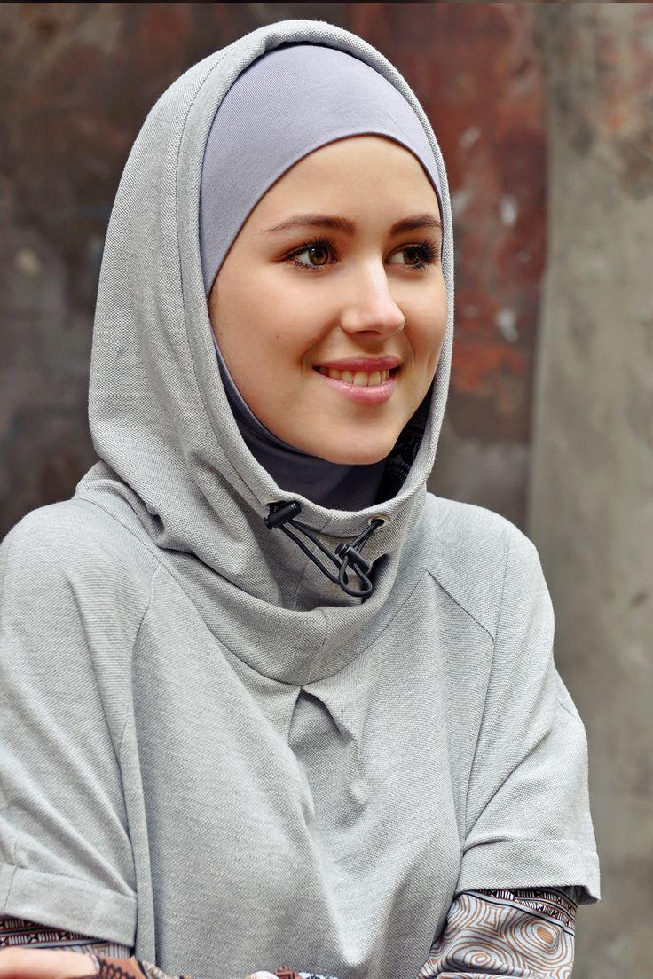 Hoodie hijab #modesty #sport