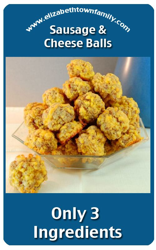 Heather Heuman loved when her mom made these sausage and cheese balls ...