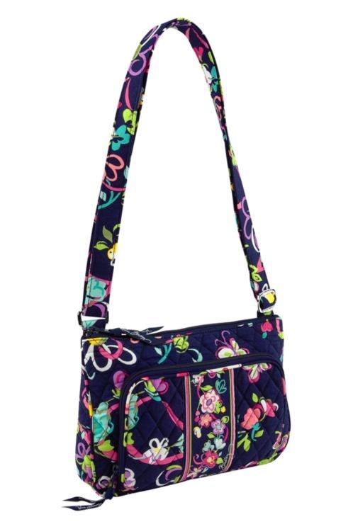 Vera Bradley little hipster bag in ribbons print VeraBradley MessengerCrossBody