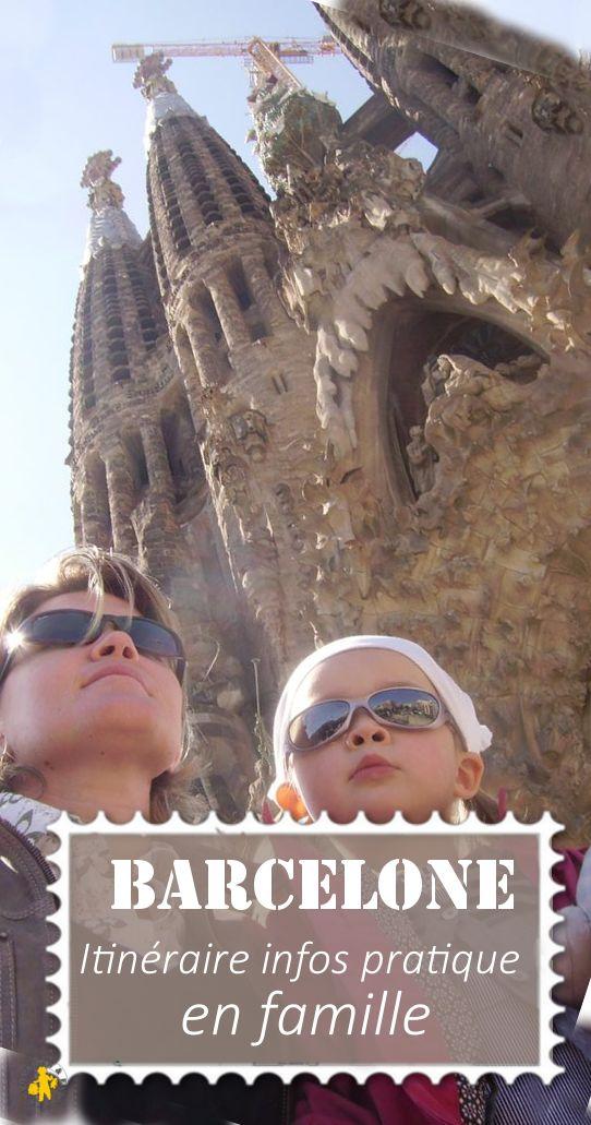 Visiter Barcelone en famille: nos idées et visites et programme sur un week-end, 3 ou 5 jours