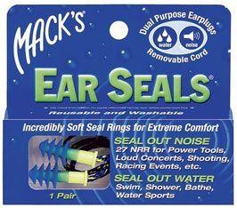 Hard Silicon Ear Plugs – Mack's Ear Seals
