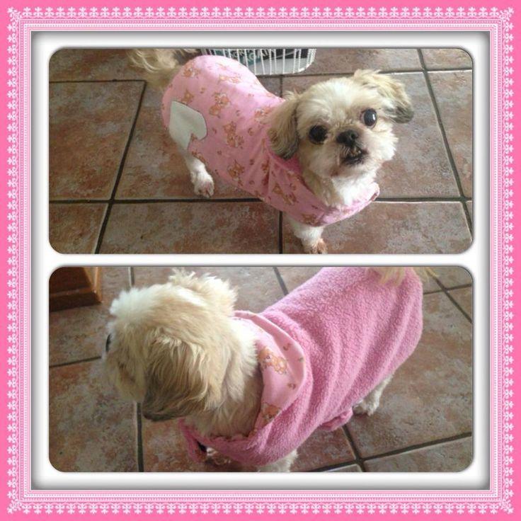 Small Dog Coat https://www.etsy.com/au/listing/201569536/reversible-dog-coats?