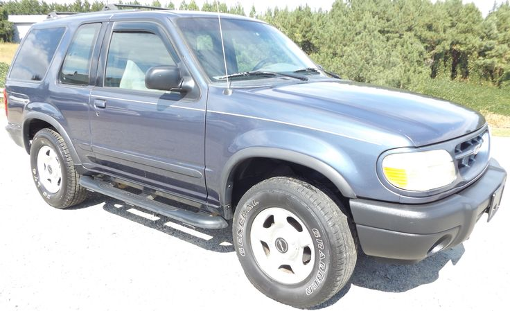 2000 Ford Explorer Sport: Only 140,000 Miles!